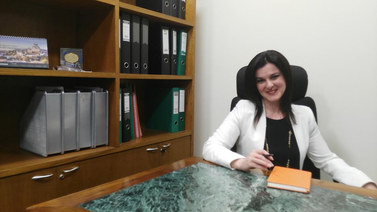 Η Διευθύντρια του Β&Ν BΑNΚ Greek Branch κα Άννα Αβάκοβα