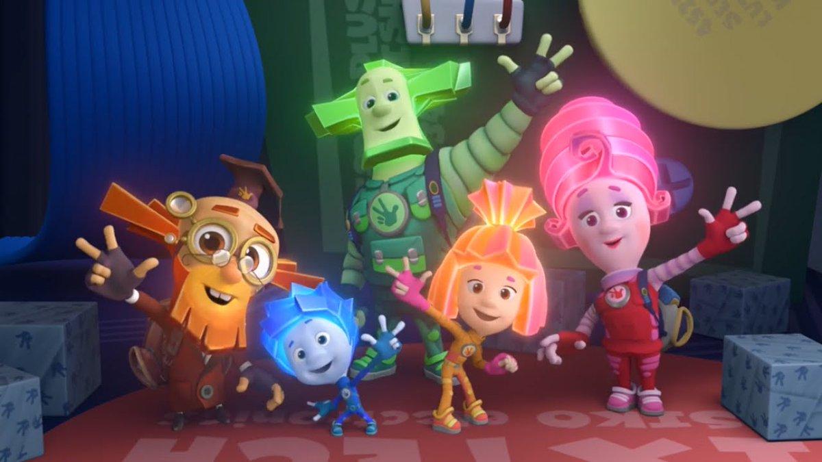 """Ρωσική σειρά animation """"Φίξικι"""""""